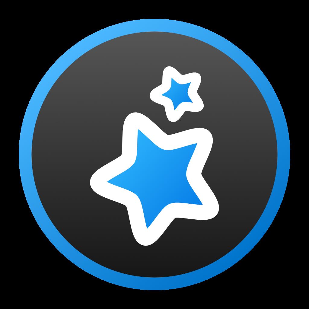 Anki_2_star_charcoal_blue_outline