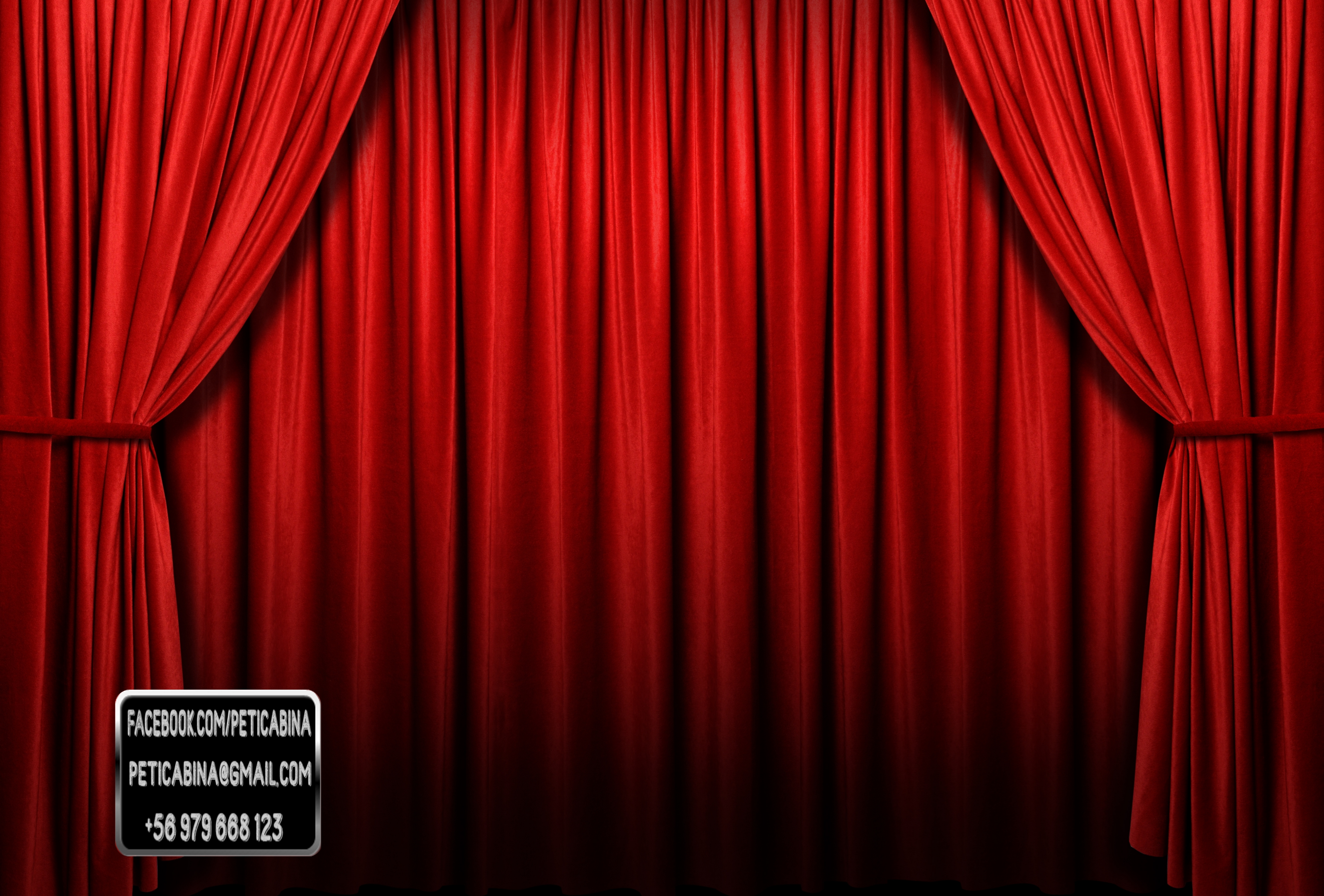 Delightful Closed Stage Curtains