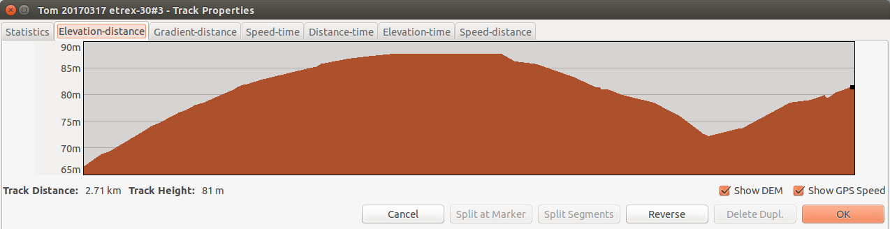 Import GPX elevation data / Features and Suggestions