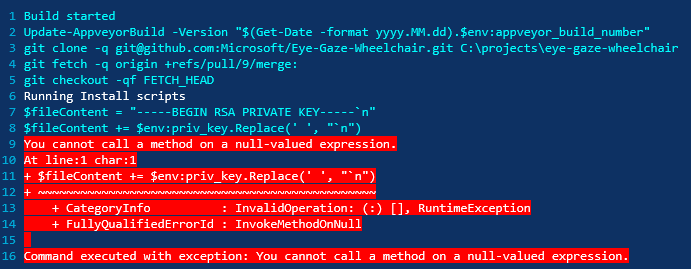 Build_failure
