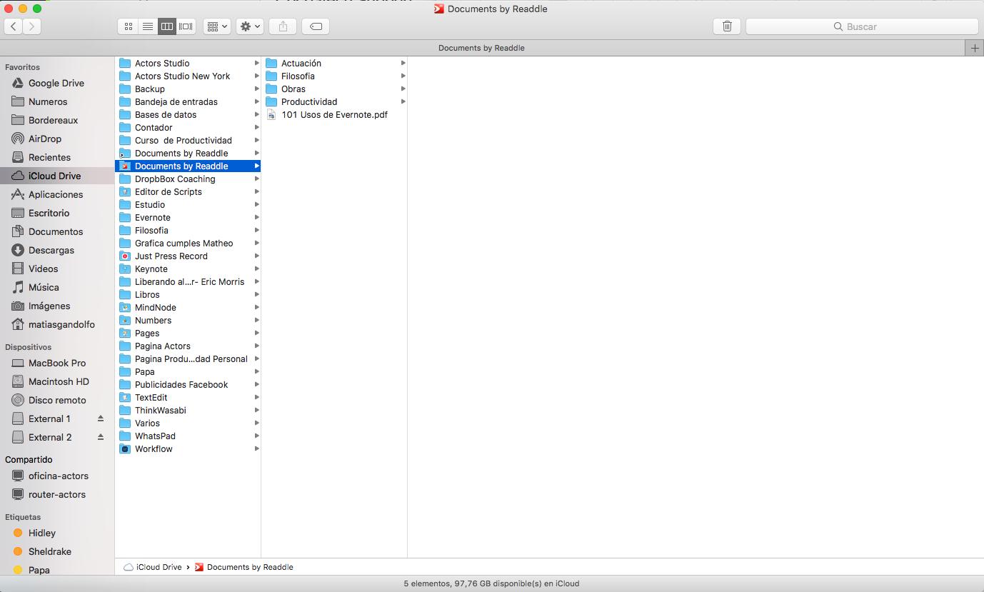 Icloud folder / Problems / Questions / Bug Reports