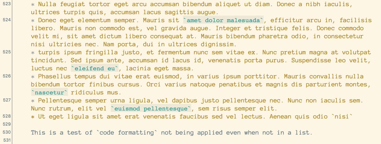 No_code_formatting