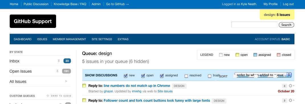Design_queue___admin_-_github_support