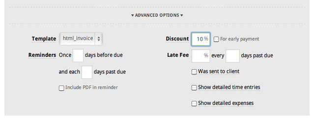How to discount an invoice