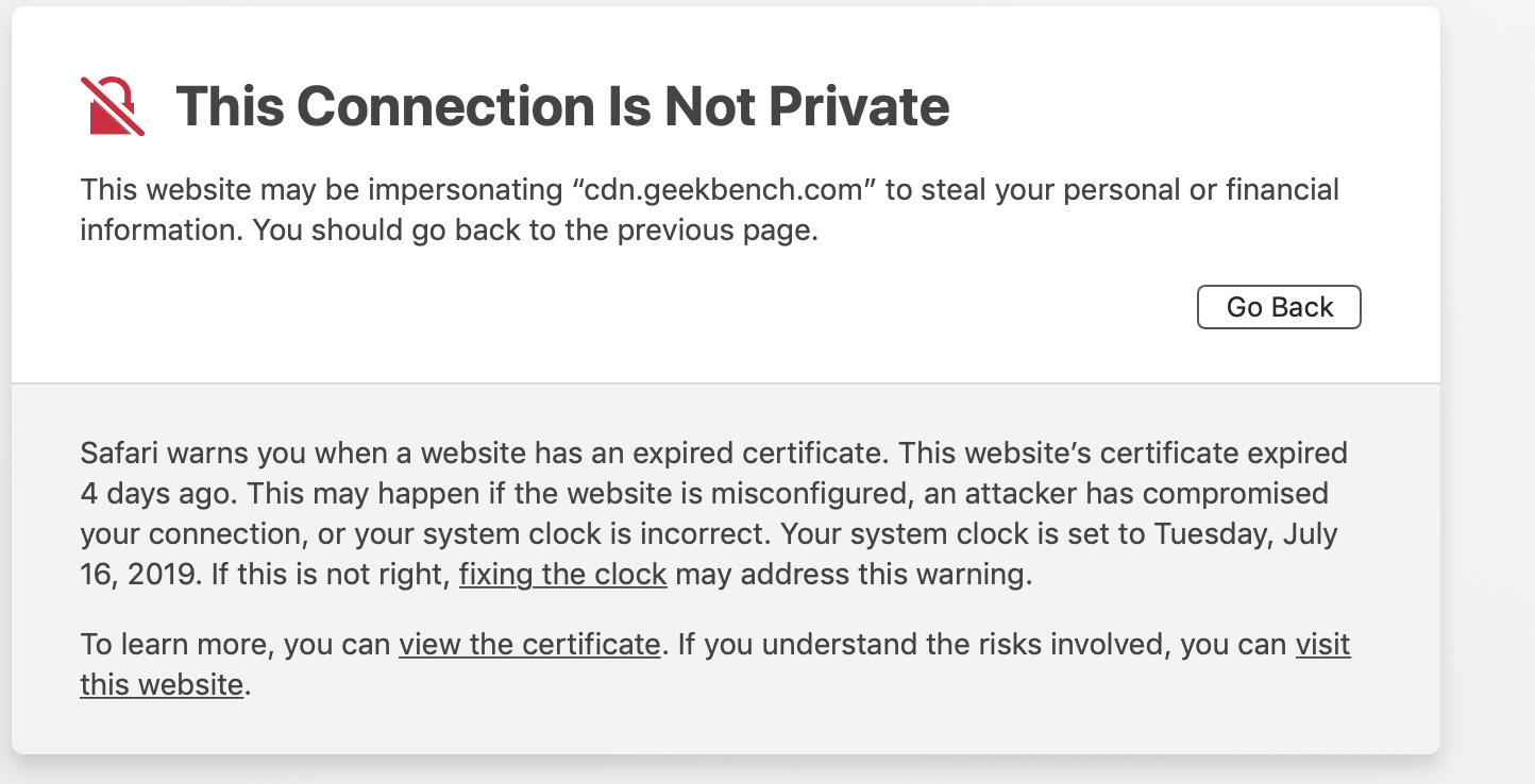 Geekbench_website_certificate_expired.