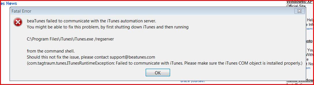 Beatunes_error