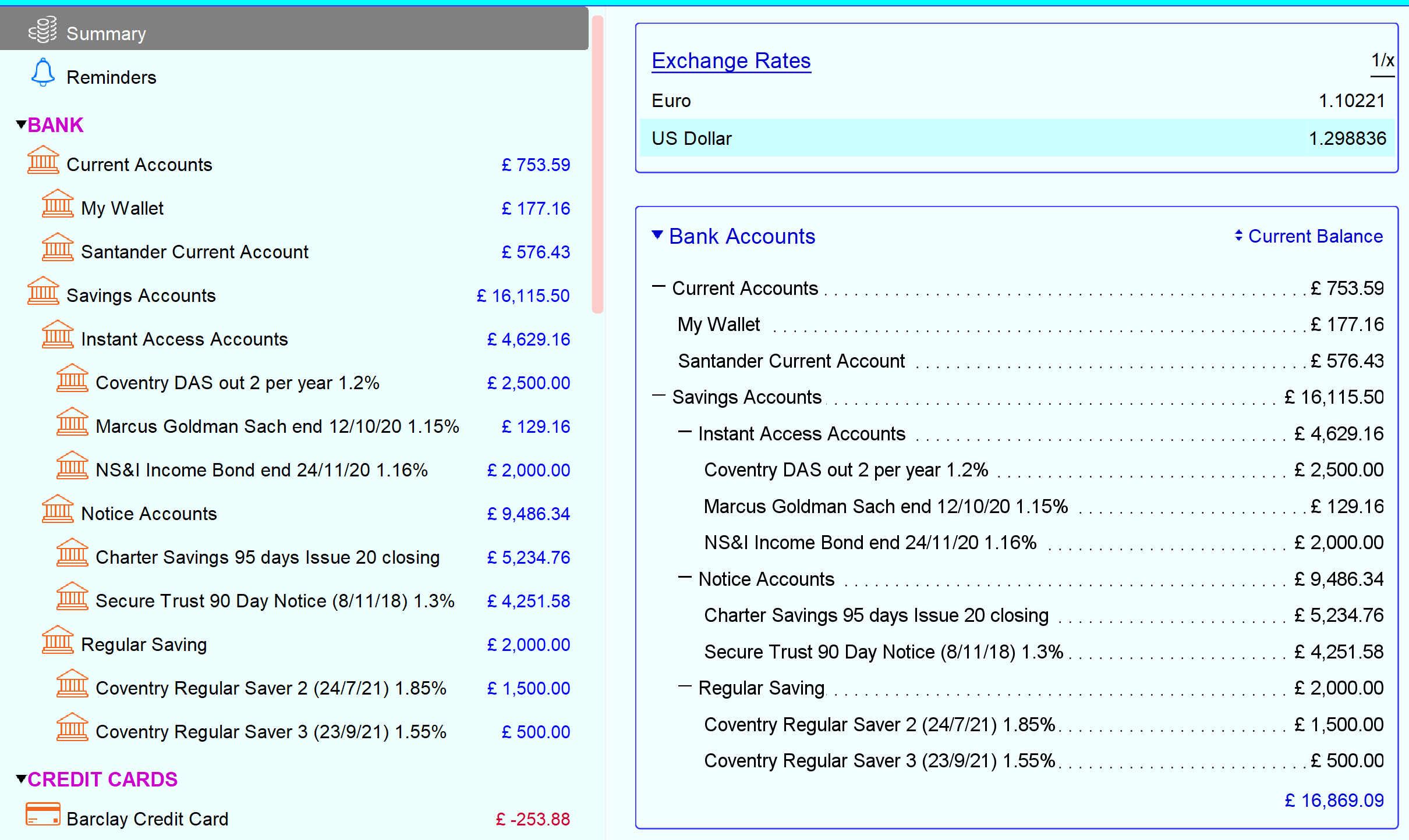 Side_bar_and_summary_page_bank_account_area_both_set_for_current