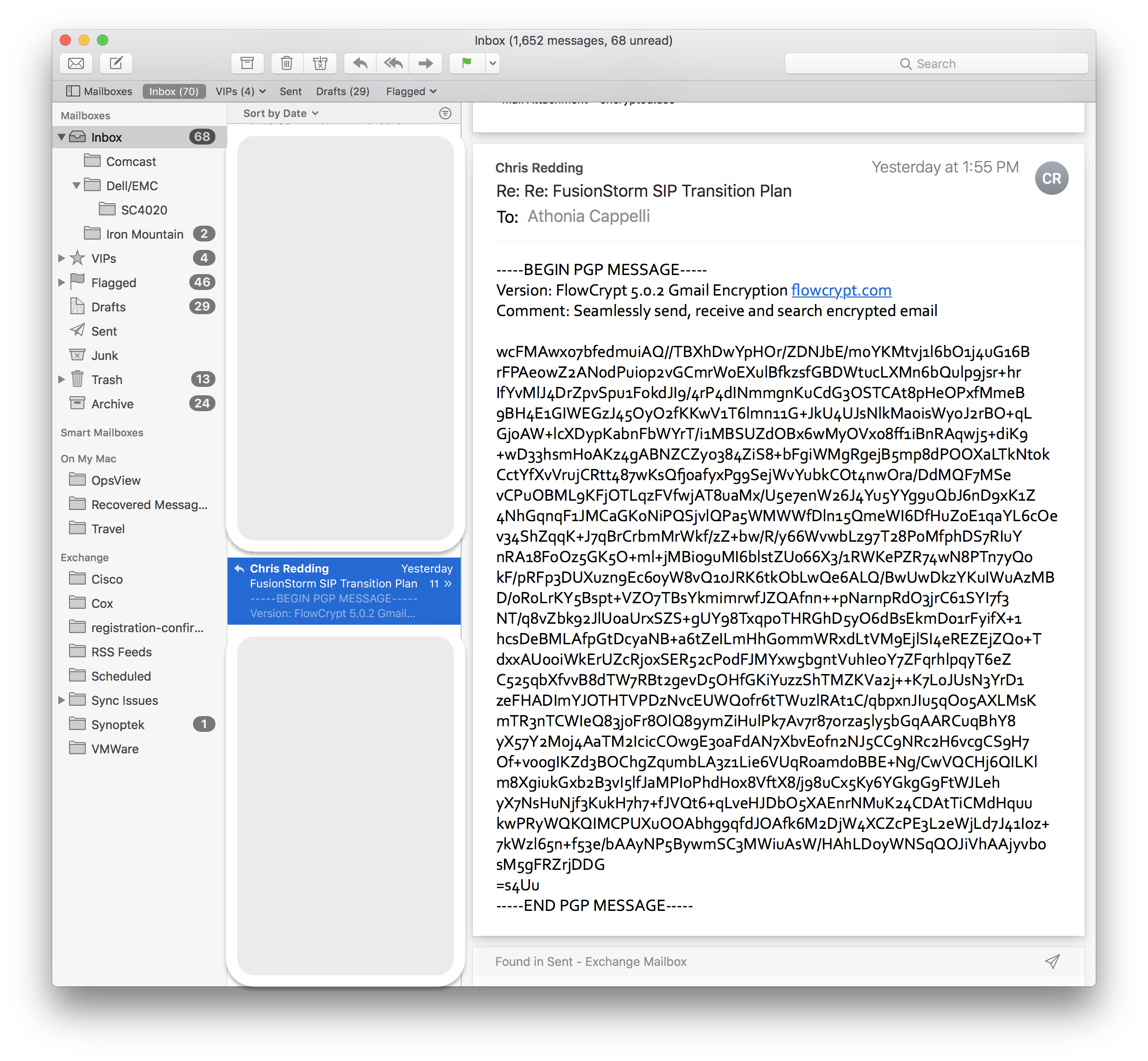 GPGMail: High Sierra upgrade problem: Mail must be quit and