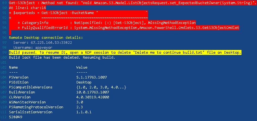 Appveyor_s3_failure