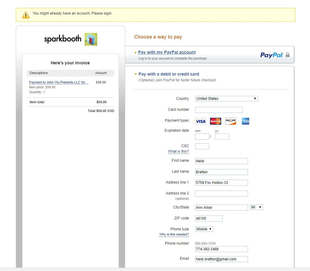 Spark_booth_payment_page_snap