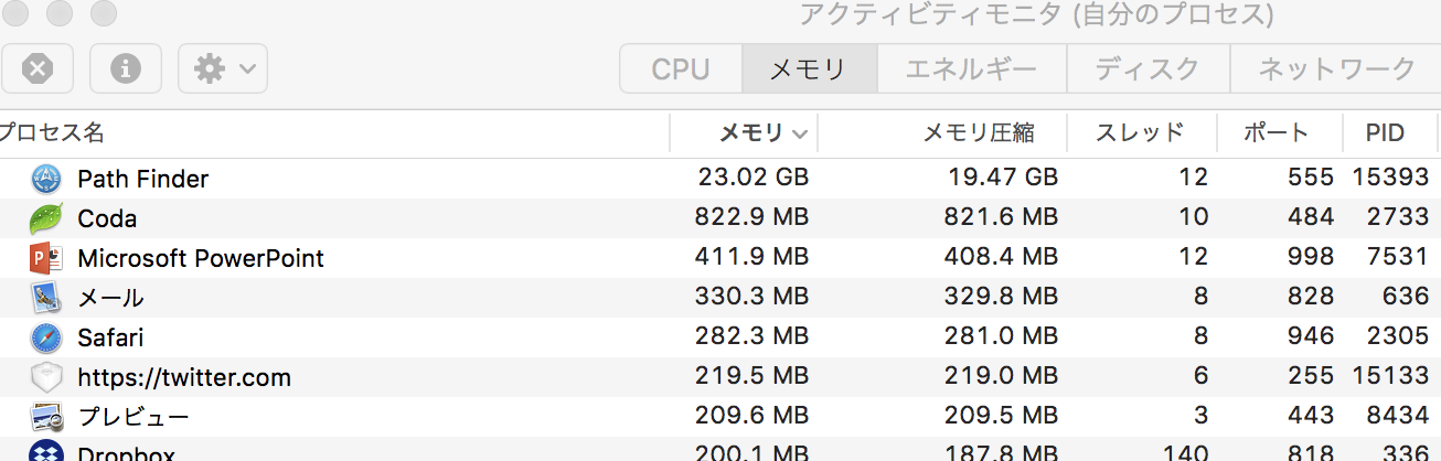 Memoryleak
