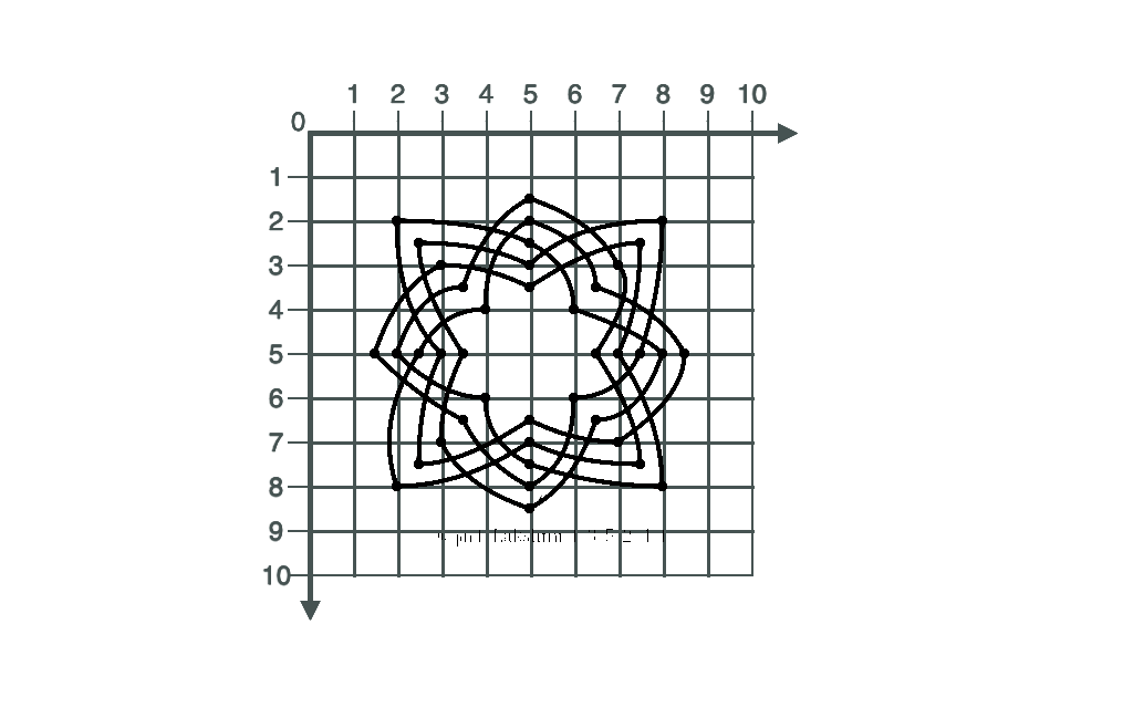 Lakshmi-kolam-grid
