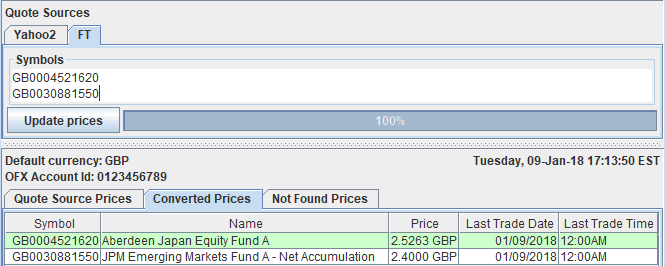 Third-party Quote and Exchange Rate Program from hleofxquotes