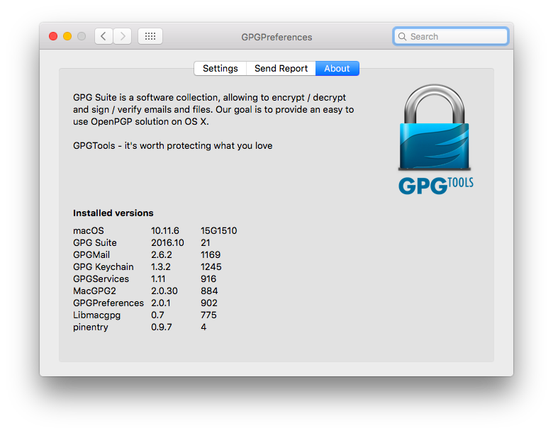 gpg keychain for mac
