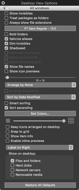 Dt_view_options