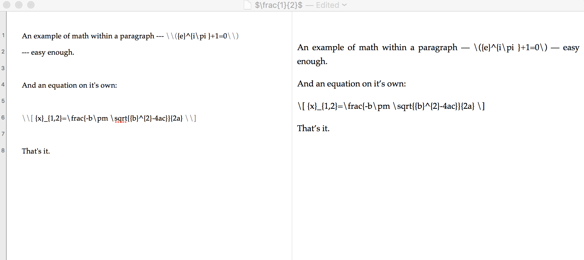 Math Syntax Not Recognized Problems V2 Discussion Area