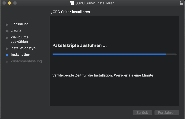 macOS 10 14 2 Installation issue: Stuck at