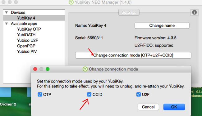 after updating to GPGtools 2017 1 Yubikey no longer