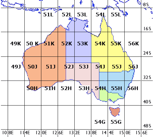 Map Grid Of Australia Zone 50.Gps Waypoints Problems Discussion Area Vms Support