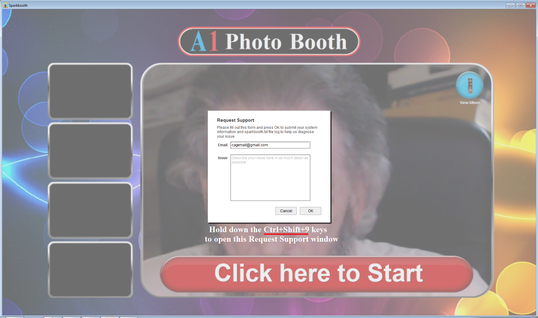 No Facebook upload  / Sparkbooth DSLR Questions / Discussion
