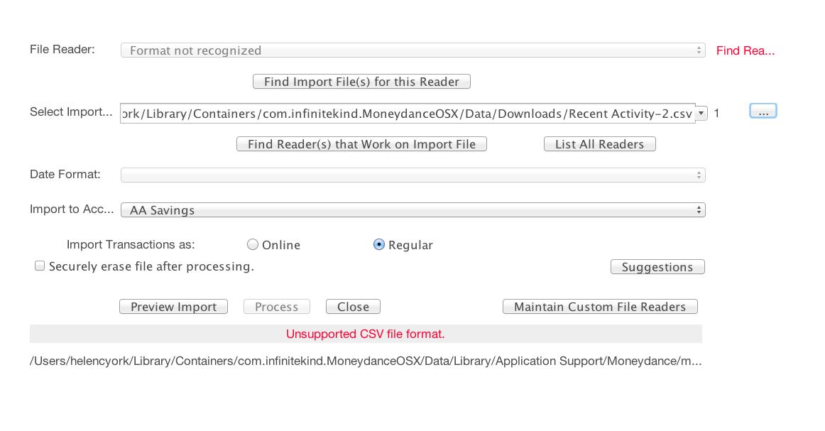 Visa account no longer providing  qif or  qfx files to download