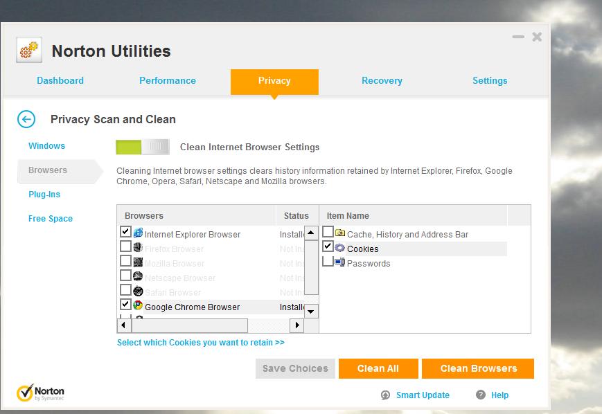 Norton Utilities / Problems / Discussion Area - AdBlock Support