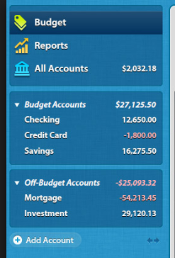 Net Worth without Loans / Switching to Moneydance