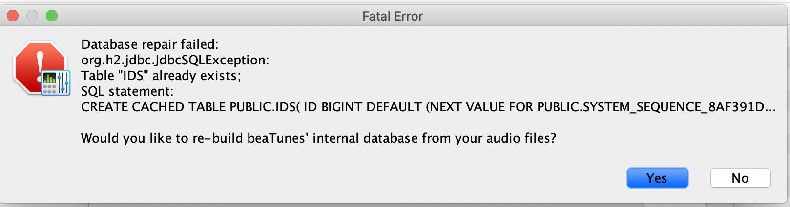 Database_repair