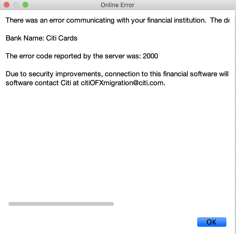 Citi_error_message