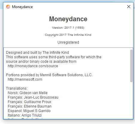 Unable to import QIF file / Switching to Moneydance