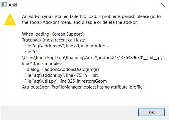 Anki_error_message