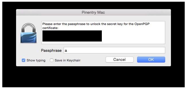 Entering-passphrase-shown