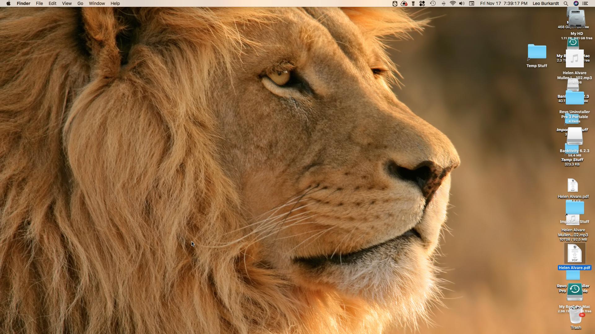 version 7 6 2 does not hide Finder desktop / Problems