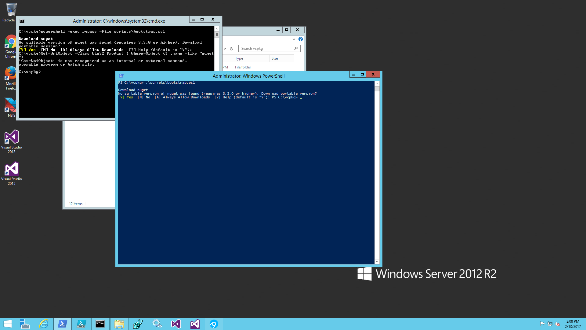 Running powershell script freezes / Problems / Discussion