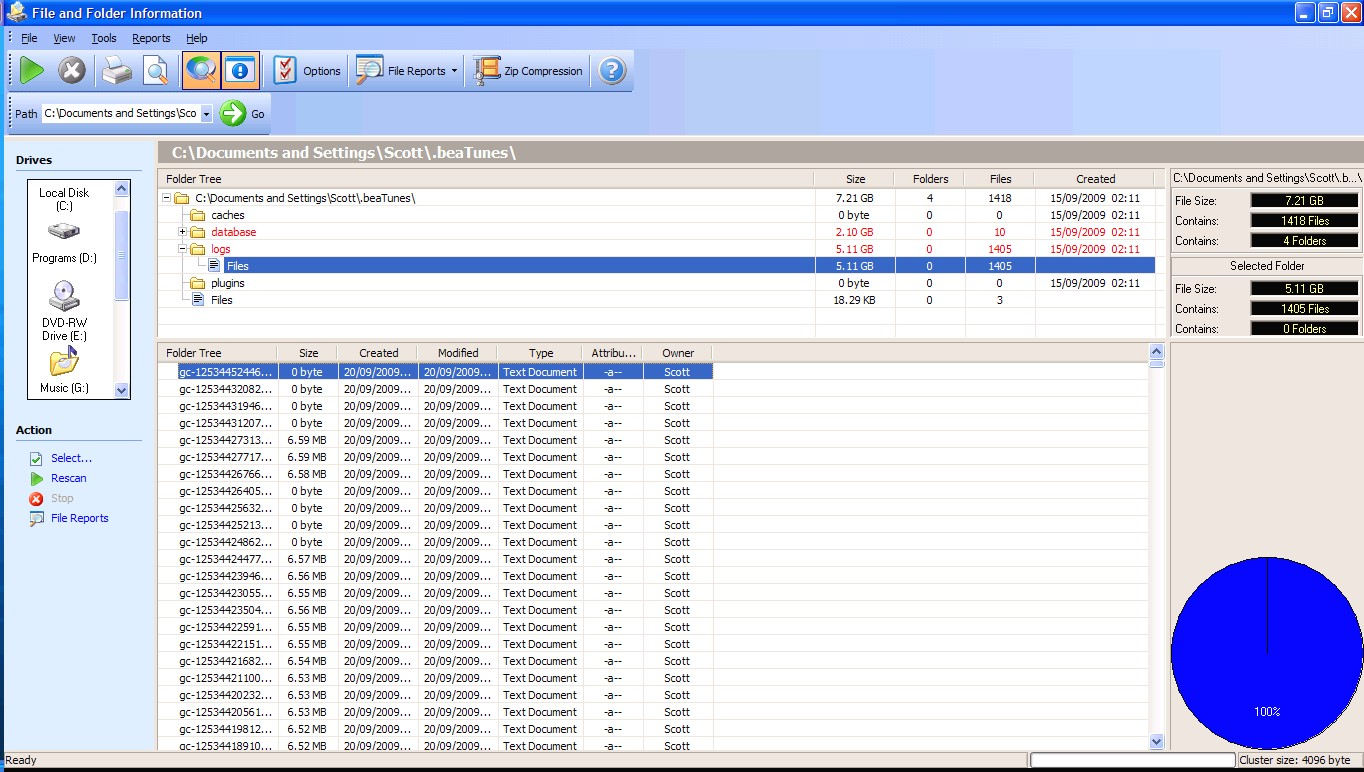 Beatunes_files_on_c_screenshot