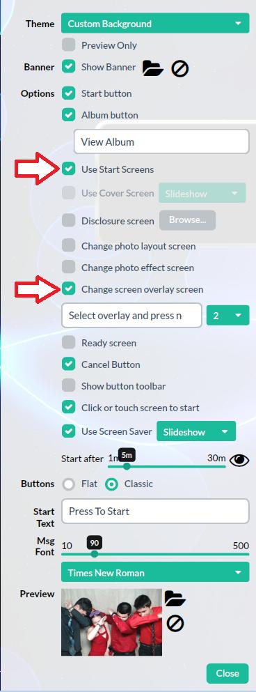 Addscreenoverlaystartscreen